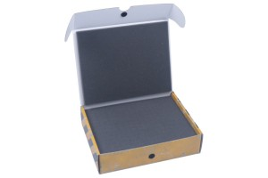 Half-sized Small Box with 40 mm raster foam tray